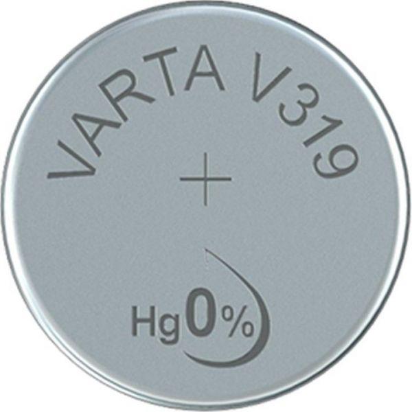 Silberoxid-Knopfzelle Typ SR64 / V319 von Varta